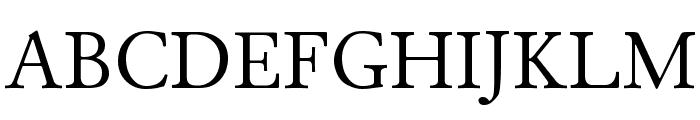 Junicode Font UPPERCASE
