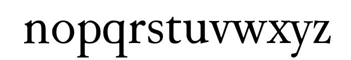 Junicode Font LOWERCASE