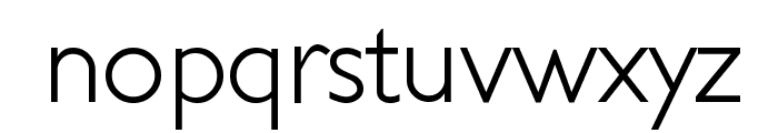 JunienLight Tryout Font LOWERCASE