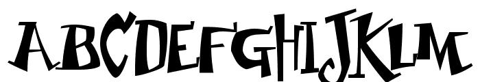 Junior & Stinky Font UPPERCASE
