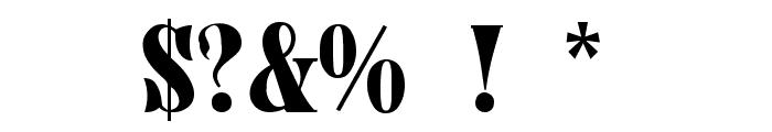Juniper-Normal Font OTHER CHARS