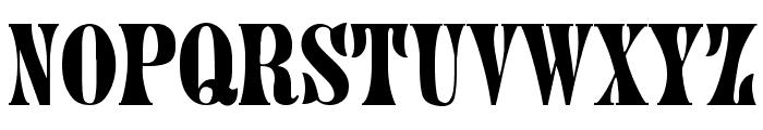 Juniper-Normal Font UPPERCASE