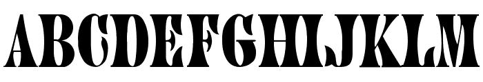 Juniper-Normal Font LOWERCASE