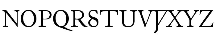 Junius Font UPPERCASE