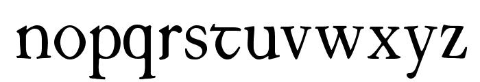 JuniusIrish Font LOWERCASE