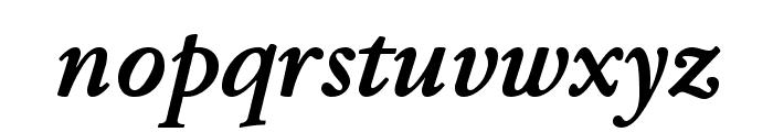 JuniusModern BoldItalic Font LOWERCASE