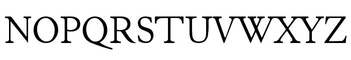 JuniusModern Font UPPERCASE