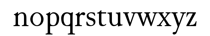JuniusModern Font LOWERCASE