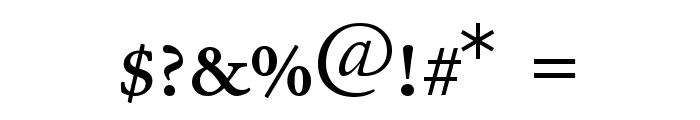 JuniusSmallCaps Font OTHER CHARS