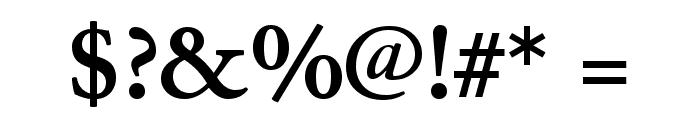 JuniusStandard Bold Font OTHER CHARS