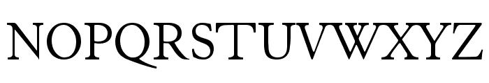 JuniusStandard Font UPPERCASE