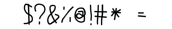 Junkyard Font OTHER CHARS