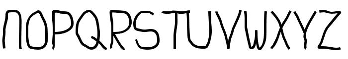 Junkyard Font UPPERCASE