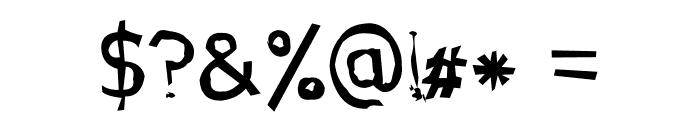 Jupiter Jellypop Font OTHER CHARS