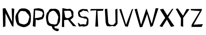 Jupiter Jellypop Font UPPERCASE