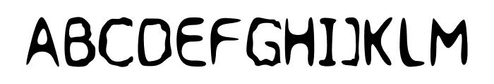 Jupiter Jellyrock Font UPPERCASE