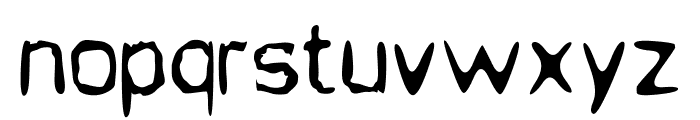 Jupiter Jellyrock Font LOWERCASE
