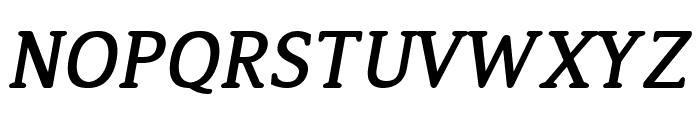 Jura Bold Italic Font UPPERCASE