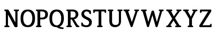 Jura-Bold Font UPPERCASE