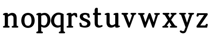 Jura-Bold Font LOWERCASE