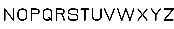 Jura Demi-Bold Font UPPERCASE