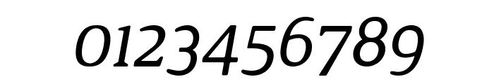 Jura Italic Font OTHER CHARS