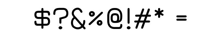 Jura Medium Font OTHER CHARS