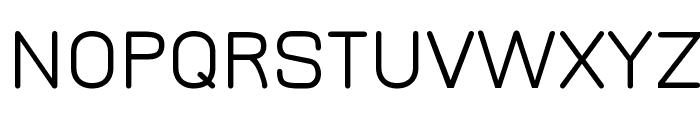 Jura Medium Font UPPERCASE