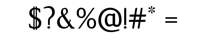 Jura-Regular Font OTHER CHARS
