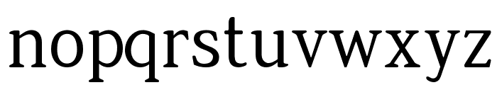 Jura-Regular Font LOWERCASE