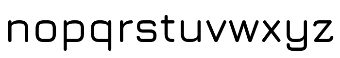 Jura SemiBold Font LOWERCASE