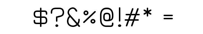 JuraBook Font OTHER CHARS