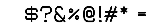 JuraDemiBold Font OTHER CHARS