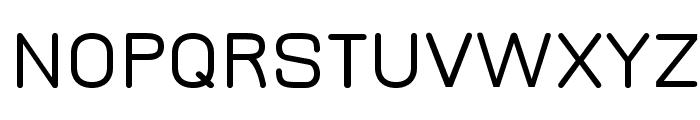 JuraDemiBold Font UPPERCASE