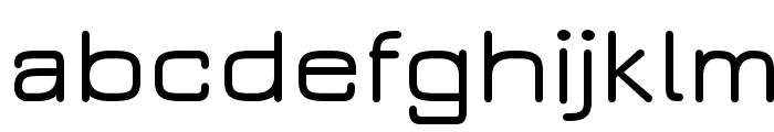 JuraDemiBold Font LOWERCASE