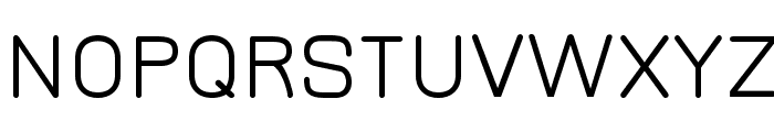 JuraMedium Font UPPERCASE