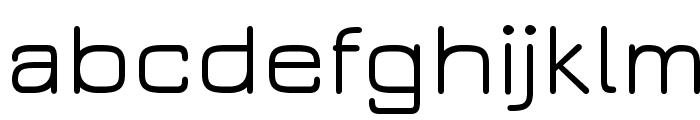 JuraMedium Font LOWERCASE