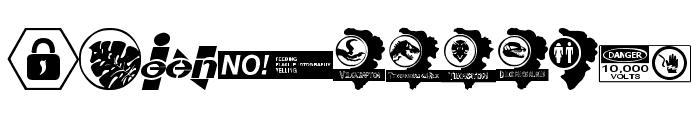 Jurassic World Font OTHER CHARS