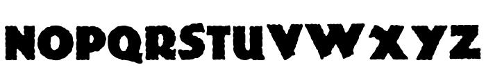 Jurassic Font LOWERCASE