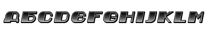 Jurij Gradient Italic Font UPPERCASE