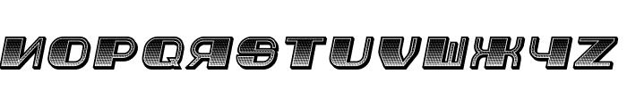 Jurij Gradient Italic Font LOWERCASE