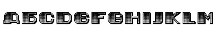 Jurij Gradient Regular Font UPPERCASE
