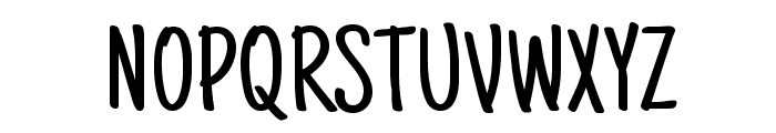 Just Another Hand Font UPPERCASE