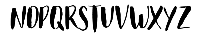 Just Believe Caps Font LOWERCASE