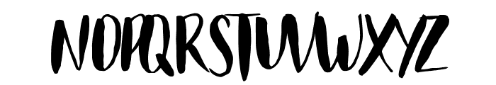 Just Believe Font UPPERCASE