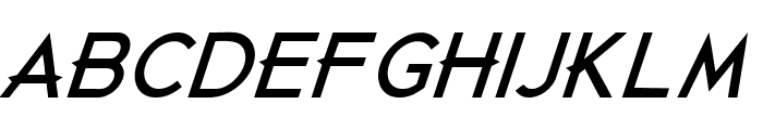 Just Die Already Black Italic Font UPPERCASE