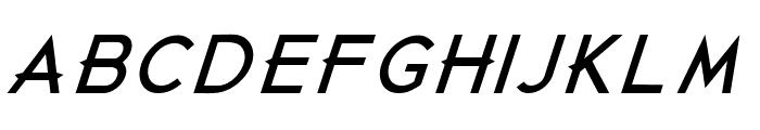 Just Die Already Black Italic Font LOWERCASE
