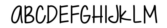 Just Gotta Smile Font UPPERCASE