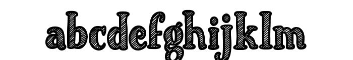 Just Mandrawn Font LOWERCASE