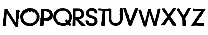 Just another stamp font - Demo Font UPPERCASE